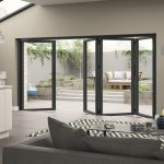 Aluminium Grey Door Set