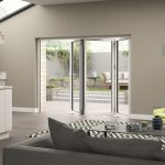Aluminium White Door Set