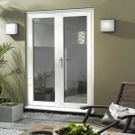 Hardwood White French Door